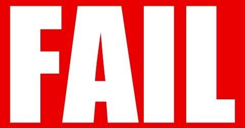 fail1 Top 3 Reasons MLM Replicated Websites Fail