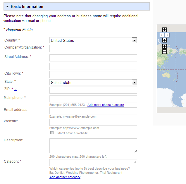 google local listing details Optimized Local Listings for Franchisees