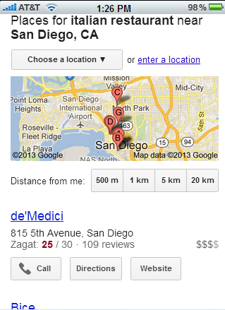 mobile local listing Optimized Local Listings for Franchisees