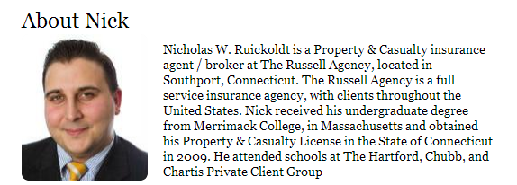 aboutnick Tips On Basic Information For Your Websites for Insurance Agents