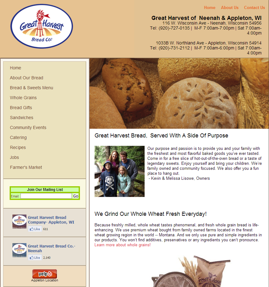 greatharvestfranchisee Franchise Web Design: Compliant Franchisee and Corporate Sites